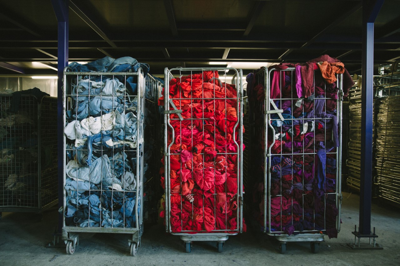 Fibersort goes to the market: making recycled textile the new norm