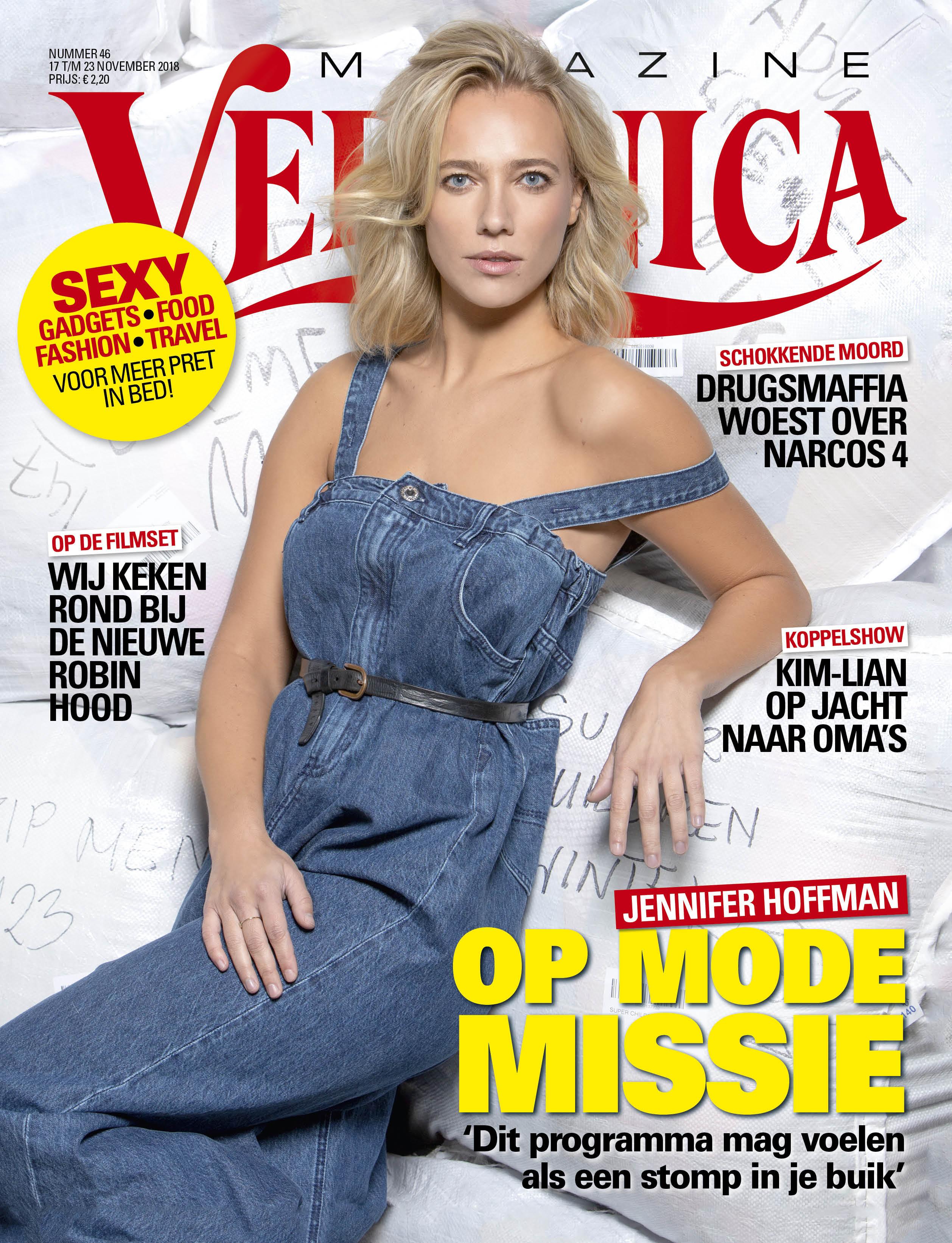 Photoshoot Jennifer Hofman Veronica Magazine Bij Wieland Textiles BV !!!