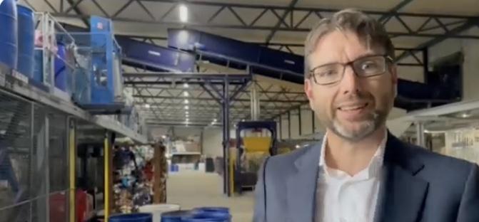 Staatssecretaris Steven van Weyenberg op werkbezoek bij Wieland Textiles